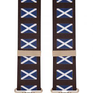 Scotland Flag Ecosse design trouser braces