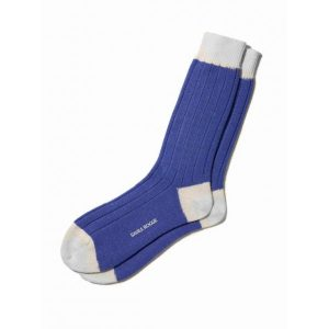 Cashmere Ankle Sock in Royal Blue