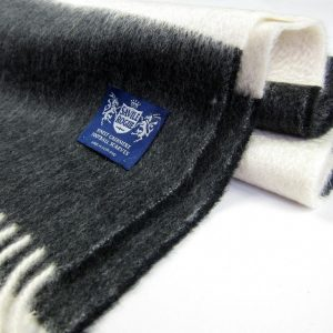 Classic Woven in Black and White by Savile Rogue