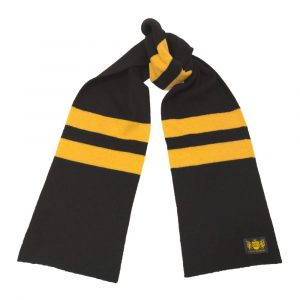 Savile Rogue Black and Gold Neutrals Scarf