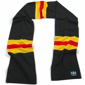 Savile Rogue Black Yellow and Red Hattrick Scarf