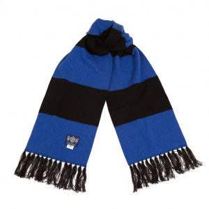 Deluxe Scarf in blue and black by Savile rogue