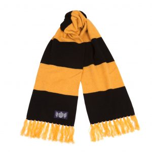 Deluxe Scarf in black and gold by Savile Rogue