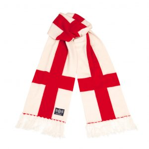 Savile Rogue England (Cross of St George) Deluxe Cashmere Football Scarf
