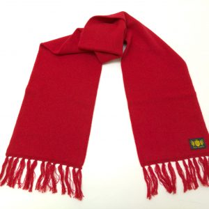 Savile Rogue Luxury Red Scarf - ONE COLOUR