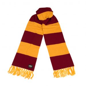 Savile Rogue Claret and Gold Superking Cashmere Football Scarf