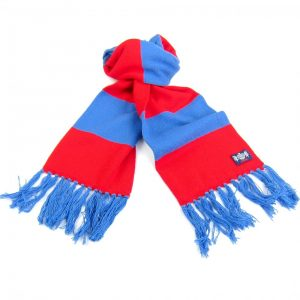 Savile Rogue Youth Red and Blue Football Scarf