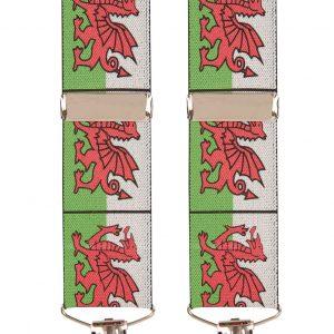 Welshe Emblem trouser Braces